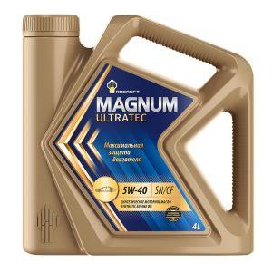 роснефть magnum ultratec 5w 40