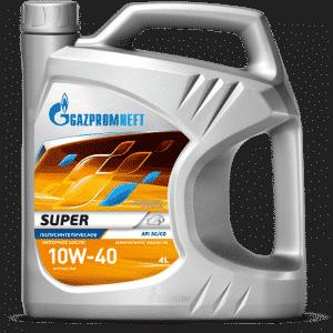 газпромнефть супер 10w 40