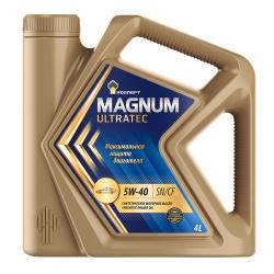 Роснефть Magnum Ultratec 5W 40 4 л